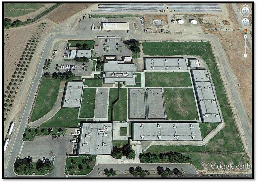An aerial view of the John Latorraca Correctional facility.