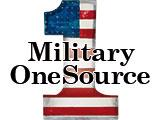 PMilitary One Source over the number one