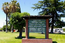 Winton Park Sign