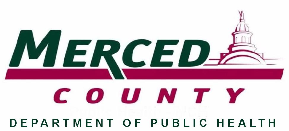Merced County LOGO with Department of Public Health