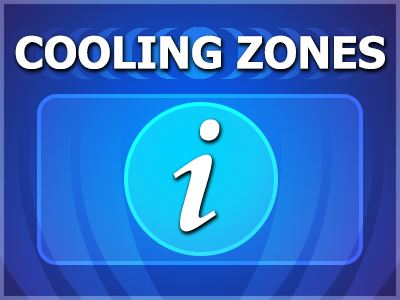Cooling Zones