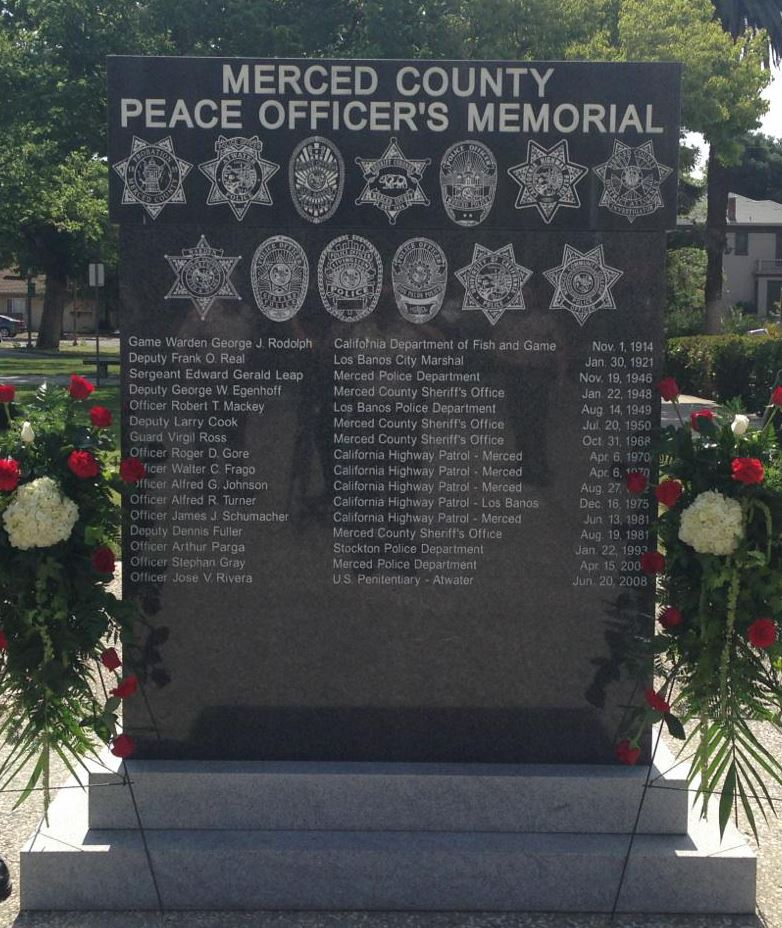 Merced Co Memorial Photo
