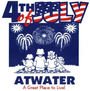 Atwater 4th of July Logo