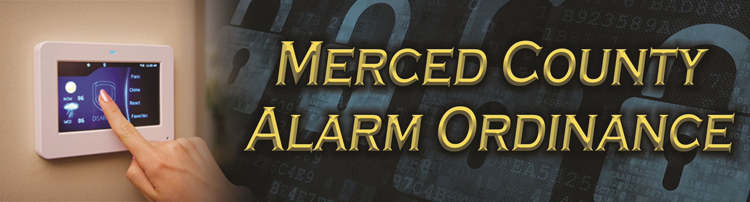 Alarm Ordinance Header