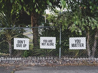 Dont Give Up - Youre Not Alone - You Matter