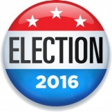 Election 2016 button